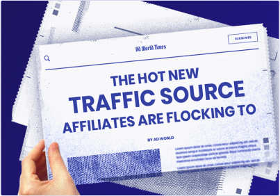 Uncover 2021's hottest alternative traffic sources for affiliates
